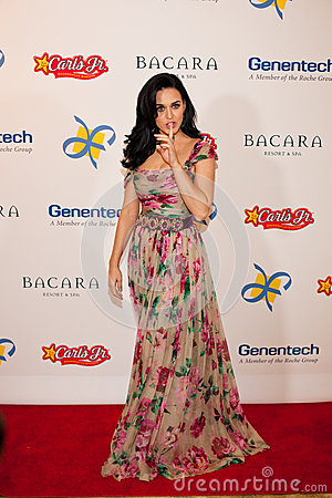 Katy Perry Editorial Stock Photo