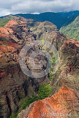 Kauai canyon