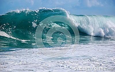 Kauai shorebreak