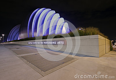 Kauffman Center for the Performing Arts Editorial Image