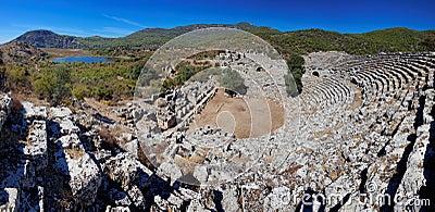 Kaunos Ruins, near Marmaris, Turkey