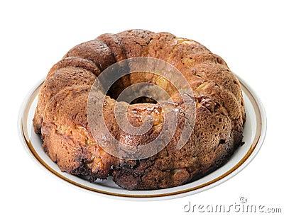 Kawa jabłczany Tort