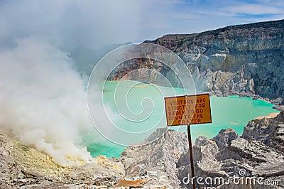 Kawah Ijen volcano, Java, Indonesia