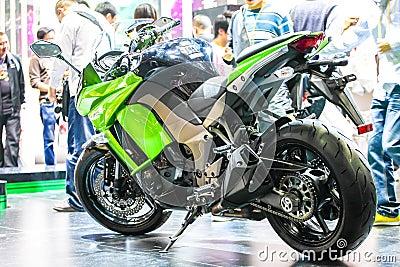 Kawasaki Z 1000sx Editorial Image