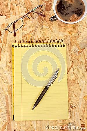 Kawowy notatnik