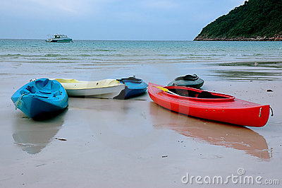 Kayak - Beach scenery
