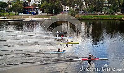 Kayak contest Editorial Photography