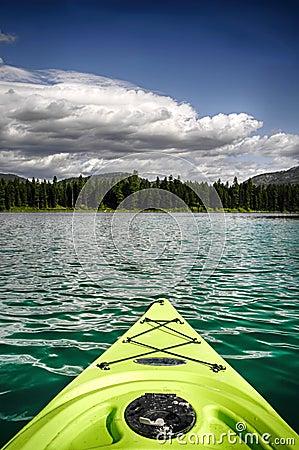 Free Kayak On Lake Stock Images - 72325004