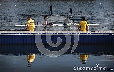 Kayak Race Editorial Image
