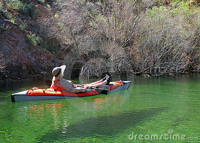 Kayak Relaxation