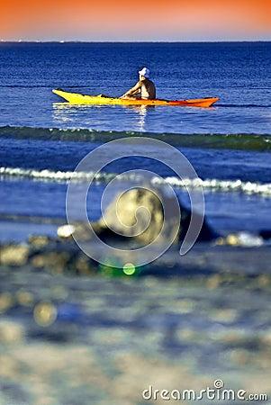 Free Kayak Sailor Stock Photography - 2763132