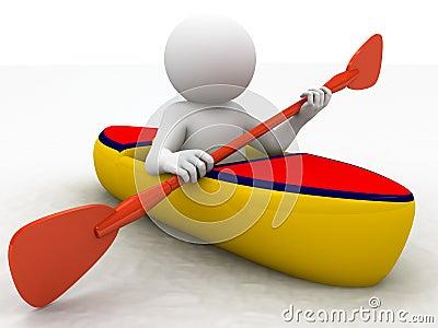 Kayak sporting