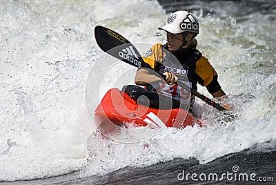 Kayak woman Editorial Photography