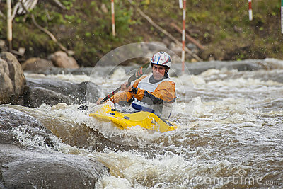 Kayaker s competition