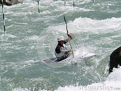 Kayaking Editorial Stock Photo