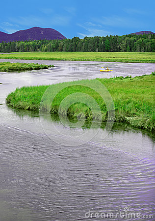 Kayaking in Acadia National Park