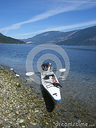 Kayaking break