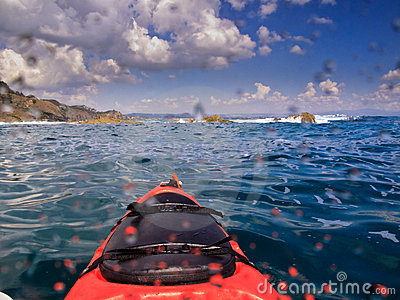 Kayaking in Byron Bay Australia