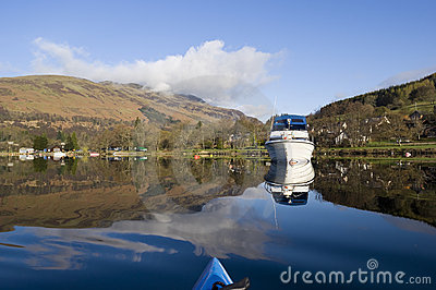 Kayaking on Loch Earn