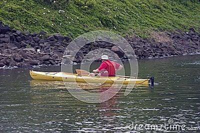 Kayaking Man