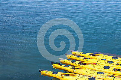 Kayaks in Bar Harbor