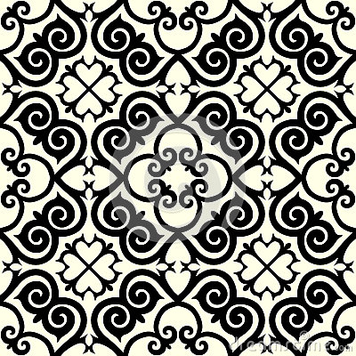 Free Kazakh National Pattern Ornament Stock Image - 40138791
