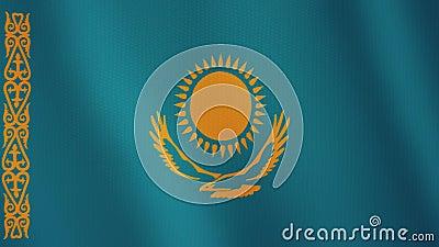 Kazakhstan Flag Green Screen | Chroma Flag | Animated ... |Kazakhstan Animation