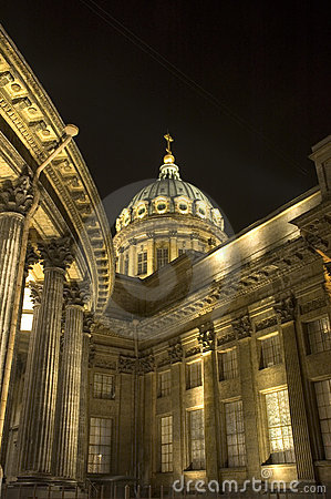 Free Kazan Cathedral In Saint Petersburg, Russia Royalty Free Stock Photography - 385367