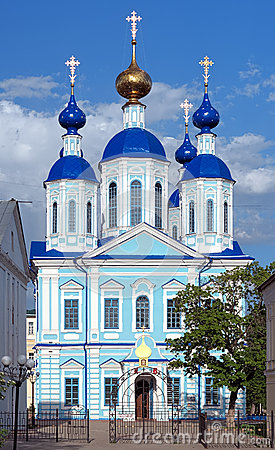 Kazan Cathedral in Tambov, Russia