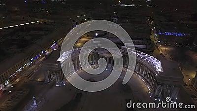 Kazan-Kathedrale, St Petersburg stock video