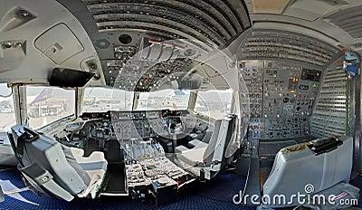 Kc10 Tanker Cockpit Stock Photo - Image: 17963050