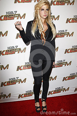 Ke$ha Editorial Stock Photo