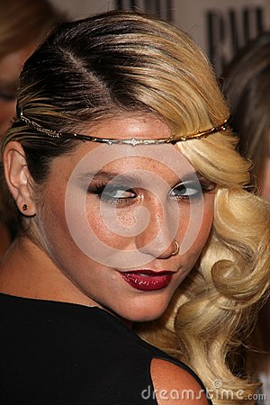 Ke$ha at the BMI Pop Awards, Beverly Wilshire Hotel, Beverly Hills, CA 05-15-12 Editorial Photo