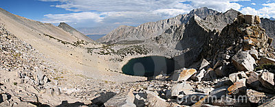 Kearsarge Pass panorama