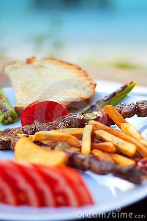 Kebab shish turkish