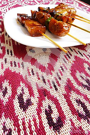 Free Kebabs Asian Style Stock Images - 29569384