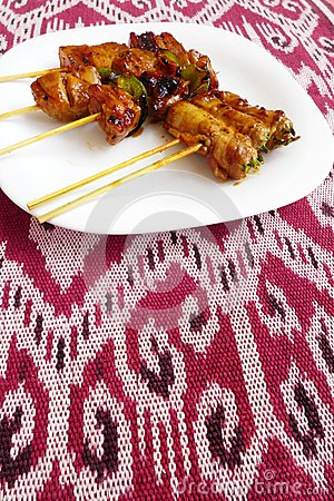 Free Kebabs Asian Style Fast Food Stock Photo - 29569990