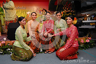 Kebaya Editorial Stock Image