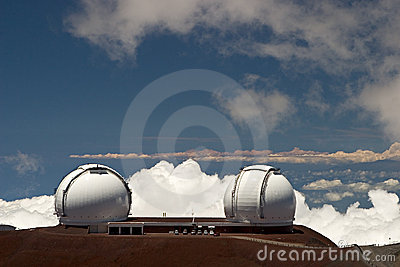 Keck Telescope Stock Photos - Image: 68133