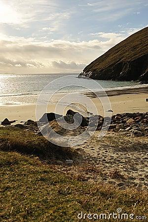 Keem beach at Achill Island