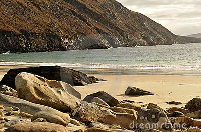 Keem beach at Achill Island