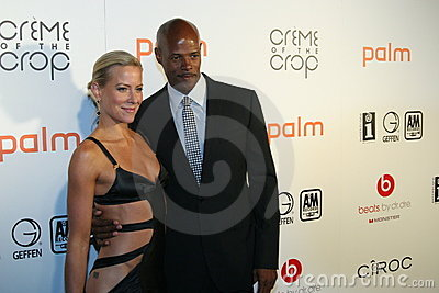 Keenan Ivory Wayans and Brittany Daniel #3 Editorial Stock Image