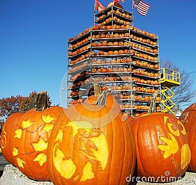 Free Keene Pumpkin Festival Stock Images - 10779354