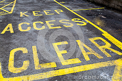 Keep Access Clear