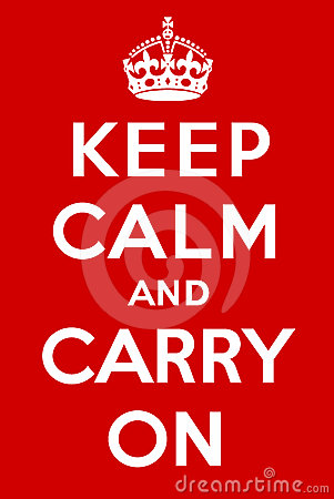 Free Keep Calm And Carry On Stock Photos - 24532503
