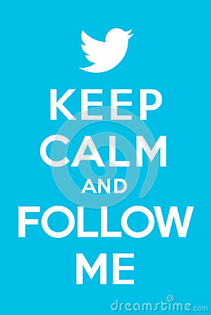 Keep Calm And Follow Me 2 Editorial Image