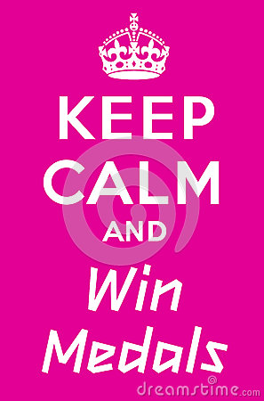 Keep Calm And Win A Medals Stock Photo - Image: 25868410 Keep Calm Crown Vector