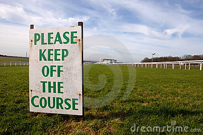 Keep off the Course (Epsom)