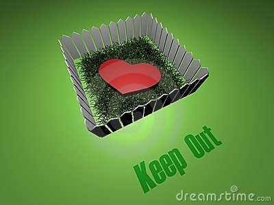 Keep out any love