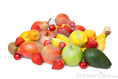 Keep of various fruits